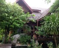 บ้านทรงไทย 2 ชั้น สไตล์ล้านนา