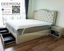 ฐานรองที่นอน เตียงนอน ฐานเตียง บล็อคเตียง เตียงดีไซน์ เตียงลิ้นชัก หัวเตียง