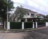 ขายบ้านเดี่ยว บุราสิริ งามวงศ์วาน-ประชาชื่น บ้านหัวมุม หลังใหญ่