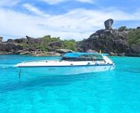 ทัวร์วันเดย์ทริป หมู่เกาะสิมิลัน โดยเรือเร็ว