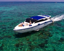 ทัวร์รุ่งอรุณ เกาะพีพี อ่าวมาหยา + เกาะไม้ไผ่ โดยเรือเร็ว
