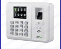เครื่องสแกนลายนิ้วมือ สแกนนิ้วมือลงเวลา TFT 2.8inch ZK-G1 Fingerprint Time