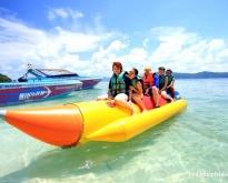 เกาะรายา – เกาะเฮ โดยเรือเร็ว