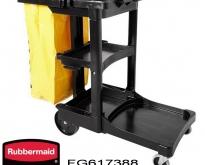 Rubbermaid : Cleaning Cart รถเข็นแม่บ้าน