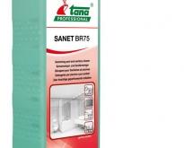 SANET BR 75 - น้ำยาทำความสะอาดห้องน้ำ, สระว่ายน้ำ และโถสุขภัณฑ์ ชนิดเข้มข้น