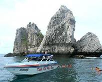 ทัวร์ท่องทะเลกระบี่ – ทะเลแหวก โดยเรือเร็ว Speedboat