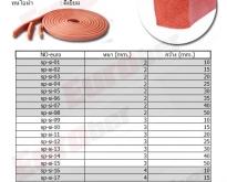 ยางซีลกันลามไฟอุณหภูมิใช้งาน Operating Temperature Flame Retardant Resistan