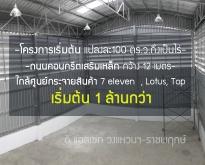 โรงงาน/โกดัง นนทบุรีเริ่มต้นที่แปลงละ100 ตารางวา เพียง 1.6 ล้านบาท