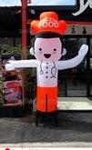 ร้านบอลลูนอาร์ท ขอนแก่น รับออกแบบตุ๊กโบกนะจ๊ะ