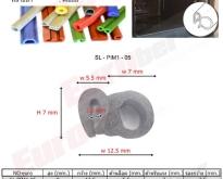 ซีลยางทนความร้อน ตามแบบ Profile Heat Resistant Rubber Seals