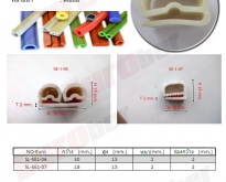 ยางซีลทนความร้อน  ตาม วัตถุดิบ Heat Resistant Seals Rubber Material