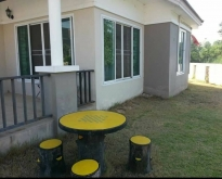 ขายบ้าน 98 ตารางวา อยู่ใน หมู่บ้านกันยารัตนการ์เด้นวิวรีสอร์ท
