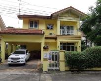 ขายบ้านเดี่ยว ซ.นวลจันทร์ 26 หมู่บ้านจิรทิพย์ บ้านเดี่ยว 2 ชั้น 3 ห้องนอน 3