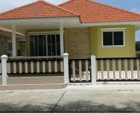 ขายบ้านหมู่บ้านสราญรัตน์ บ้านสวย ใกล้ทะเล อากาศดี ราคาถูก