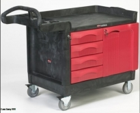 Rubbermaid TradeMaster Cart