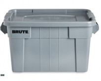 Rubbermaid BRUTE Tote Storage Bin with Lid