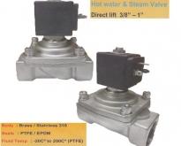Parker Solinoid valve High Temp 140-180 C High Pressure 0-20 Bar ส่งฟรีทั่ว