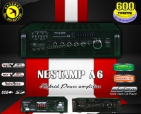 #NestAmpA6 Hybrid Power Amplifier 4ch