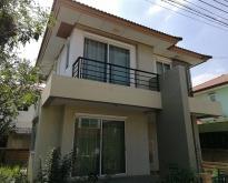 บ้านเดี่ยว2ชั้น โครงการ ฮาบิเทียบางใหญ่ แบบ โมเดิรน์ สภาพใหม่ พร้อมอยู่