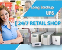 UPS for Retail shop เครื่องสำรองไฟระบบ True Line – Interractive