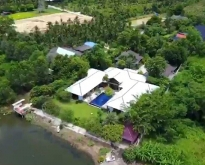 บ้านพร้อมที่ดิน ติดแม่น้ำใหญ่ นครชัยศรี อยู่ใกล้โรงเรียนนายร้อยสามพราน