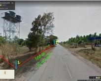 **ลดราคา**ขายที่ดินเปล่า (11-0-41)  ที่ดินติดถนนทั้งด้านหน้าและด้านหลัง ต.ห
