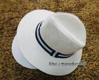 หมวกแฟชั่น หมวกทรงเค๊ก หมวกปานามา 150บ