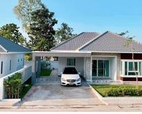 บ้านเดี่ยว 1 ชั้น โครงการบ้านจัดสรรดาราสิริ 3นอน 2น้ำ จอดรถได้ 2 คัน