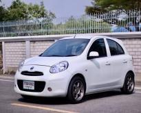 AR1ขายรถนิสันมาร์ช สีขาวปี 2012 รถสวย
