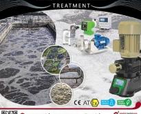 เครื่องจ่ายคลอรีน จ่ายสารเคมี ปรับคุณภาพน้ำ ระบบบำบัดน้ำดี บำบัดน้ำเสีย