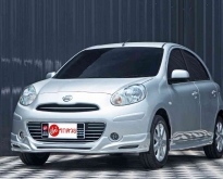 Nissan March 1.2 V ปี2012 เกียร์ออโต้ สีเทา