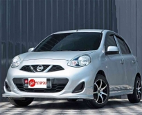 Nissan March 1.2 E MNC ปี2013 เกียร์ธรรมดา สีเทา