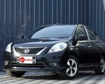 Nissan Almera 1.2E ปี 2012 สีดำ เกียร์ออโต้