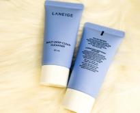 Laneige Multi Deep Clean Cleanser 30 ml. ลาเนจ มัลติ ดีพ คลีน เคลนเซอร์ โฟม
