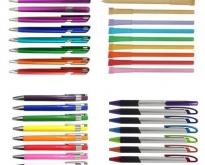 รับผลิตและจำหน่าย ปากกกาพลาสติก plastic pens ราคาพิเศษ สกรีนโลโก้ฟรี !